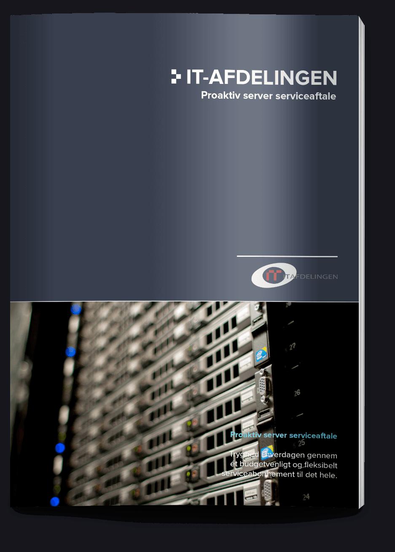 Grafisk opsætning af IT Afdelingens produktblad server service