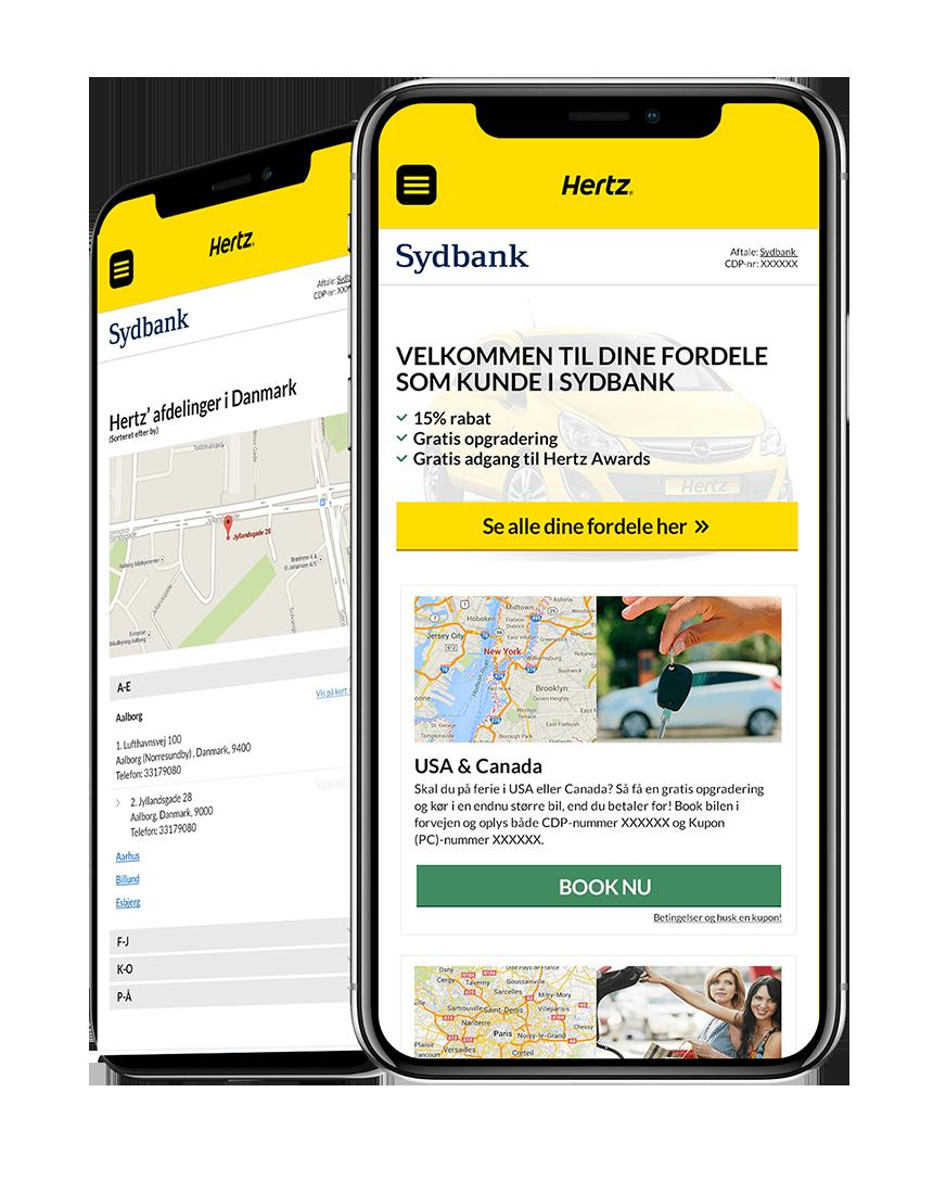 hertz mbr responsivt webdesign