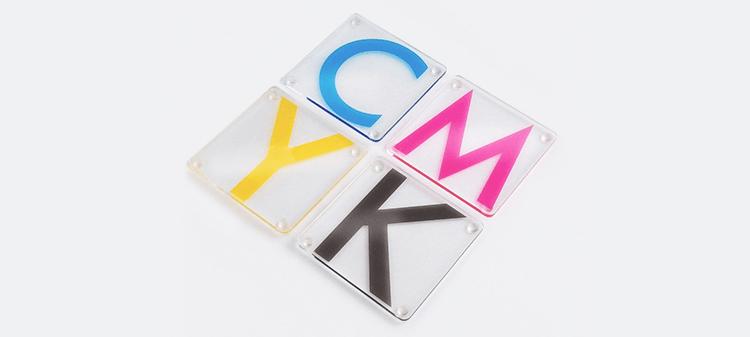 CMYK Coasters