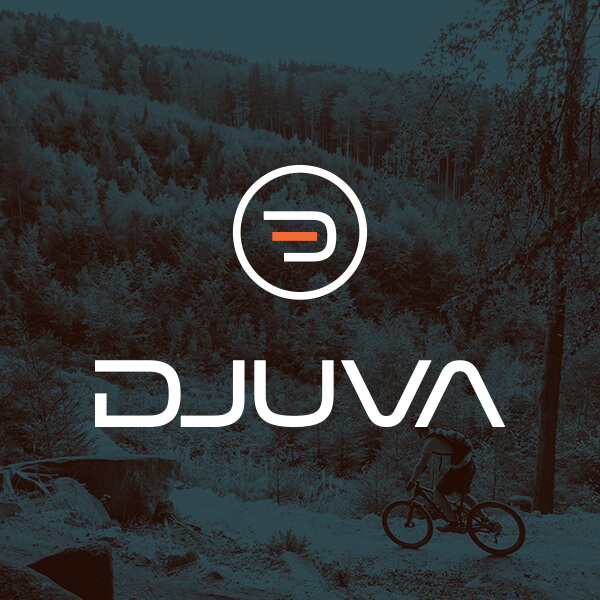 Logodesign til Djuva sportsarmbånd