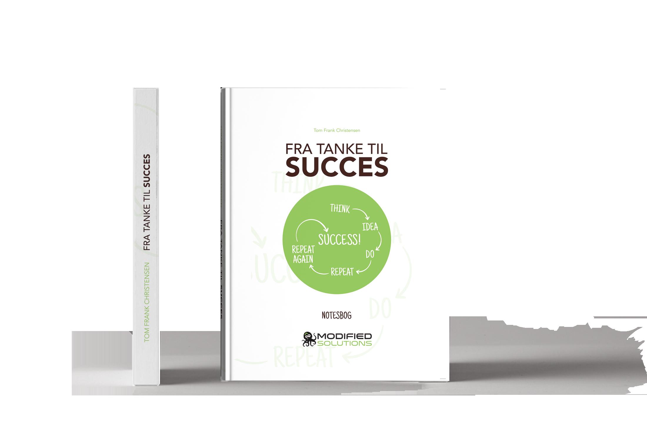 Bog stående Fra tanke til succes