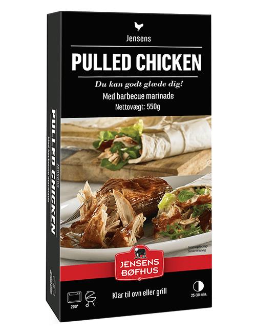 Jensens Bøfhus Pulled Chicken
