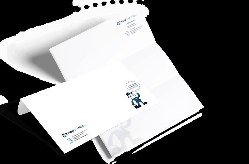 eazycleaning brevhoved og konvolut