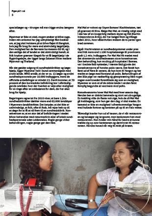 Myanmar magasin Spejderhjælpen