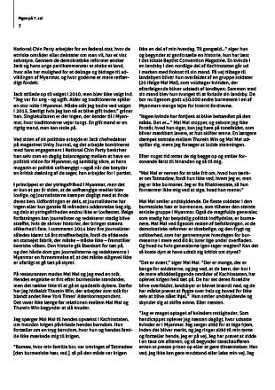 Tekstside inddelt i kolonner