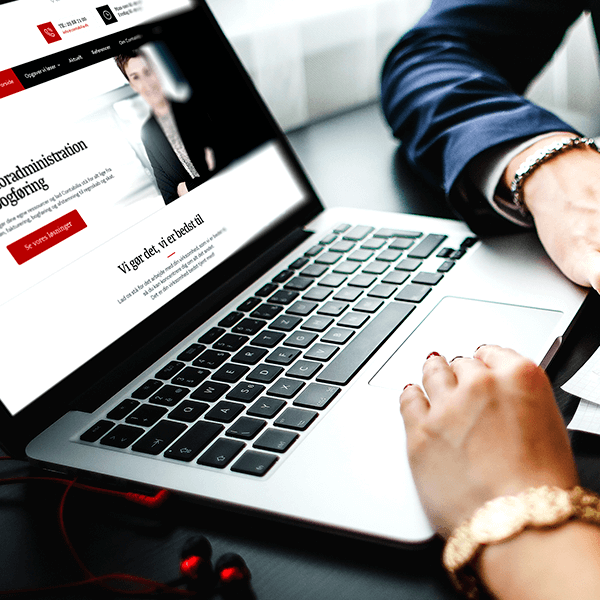Webdesign til Contabilia bogføring