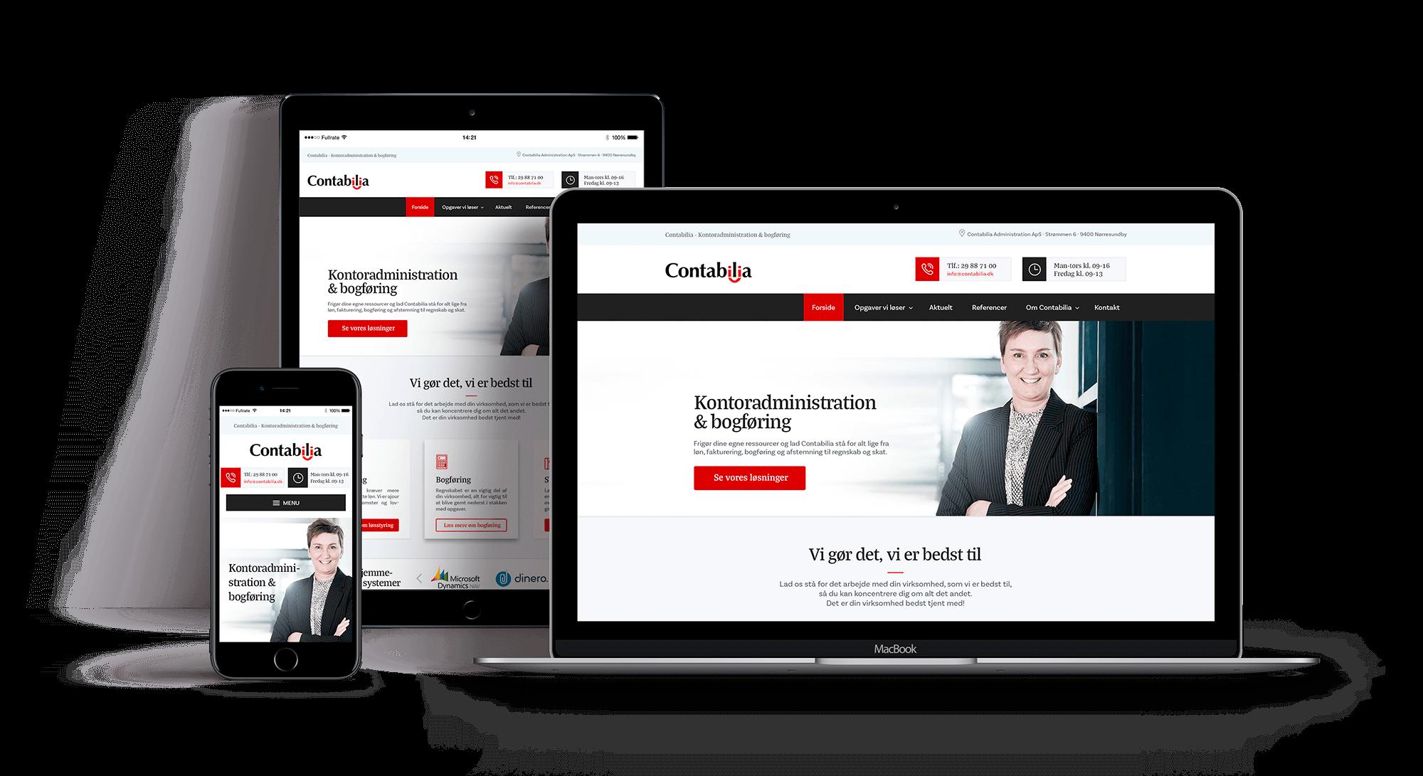 Showcase responsivt webdesign