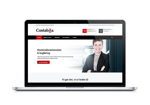 contabilia.dk webdesign