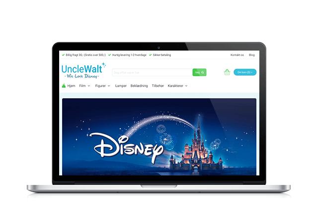 unclewalt.dk webdesign