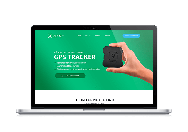 zenziot.dk webdesign