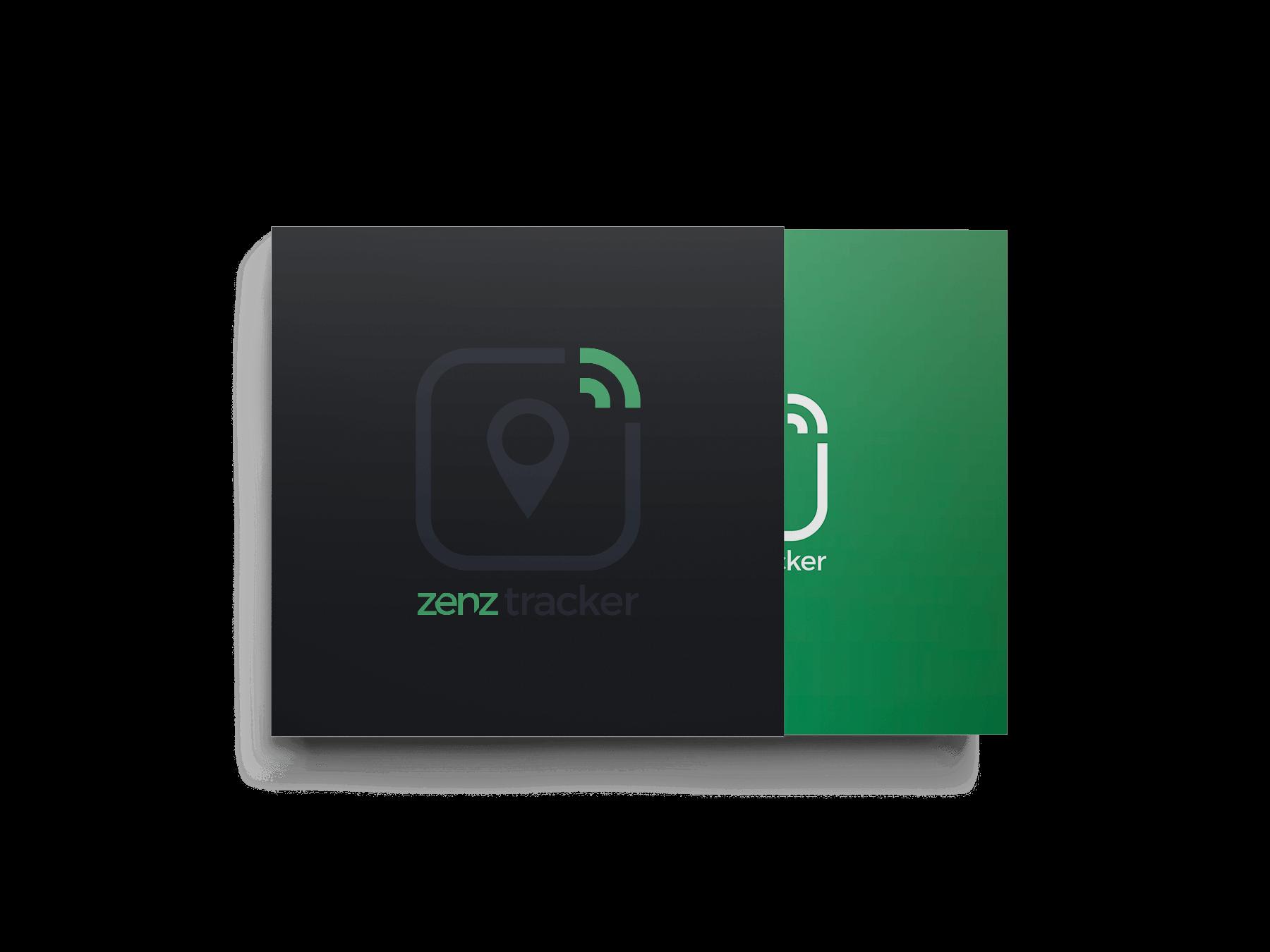 Packaging mockup til Zenztracker