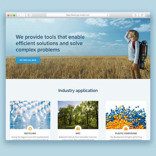 Custom webdesign til Nordic Grafting Company