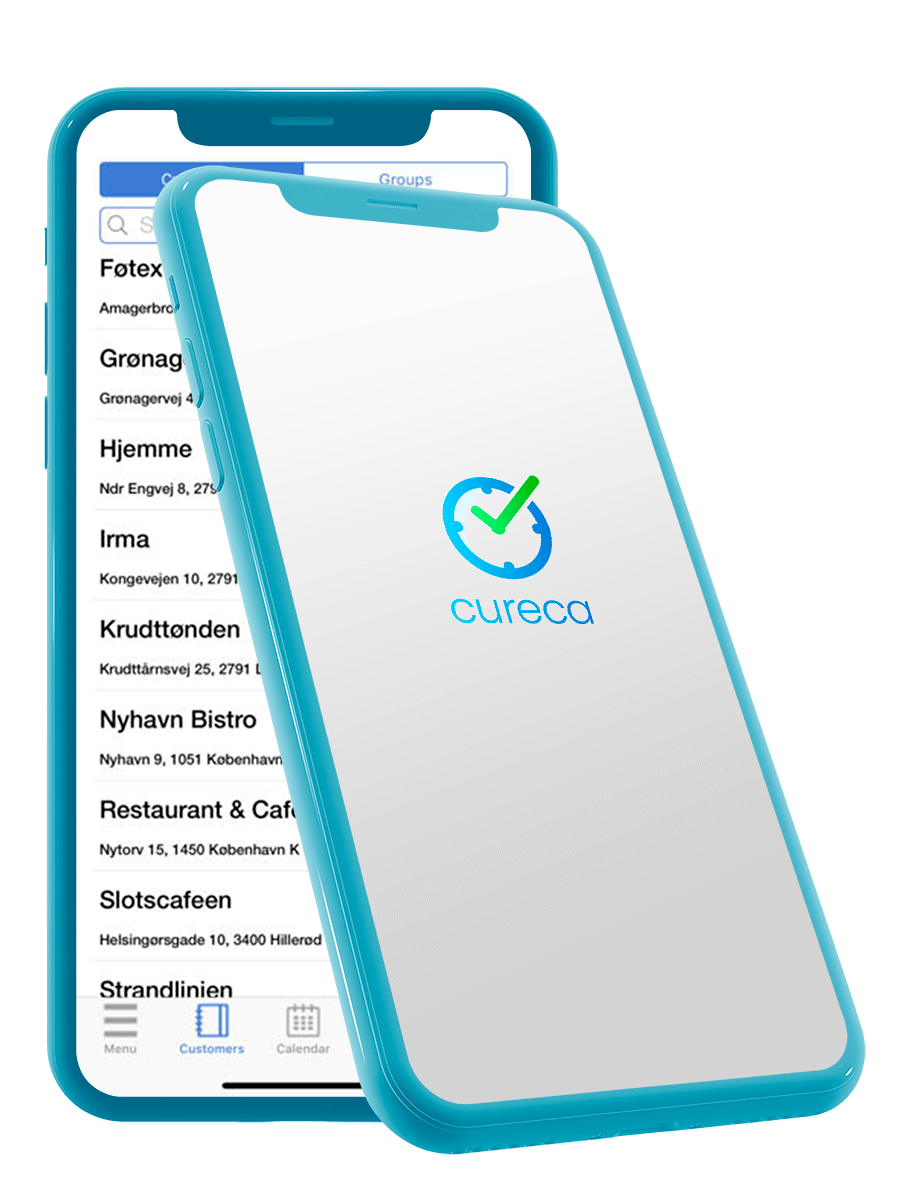 Cureca app logo iPhone
