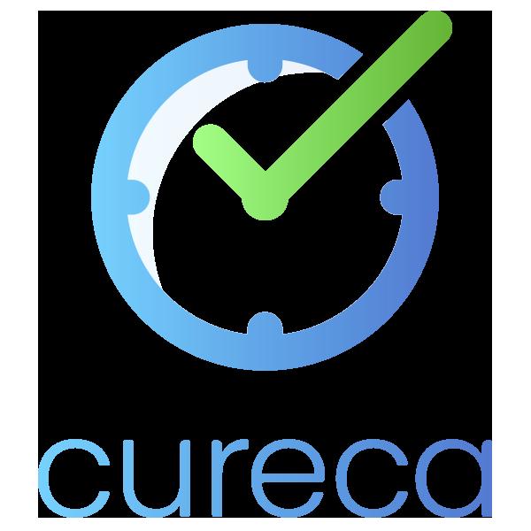 Cureca logodesign til app