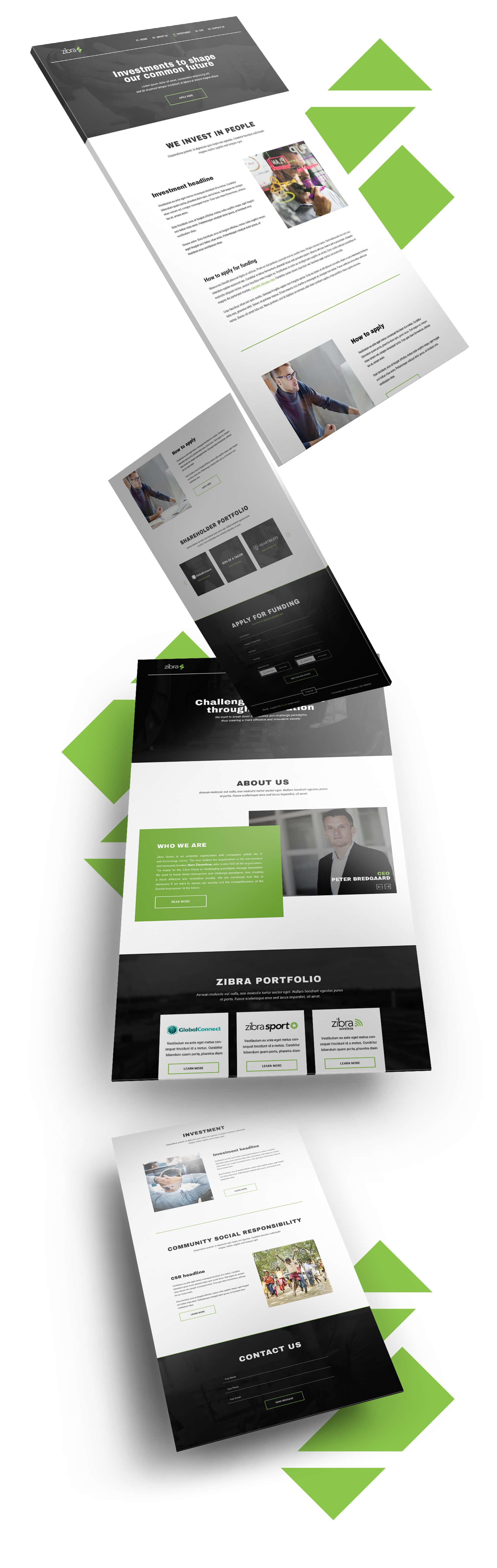 Zibra webdesign Showcase