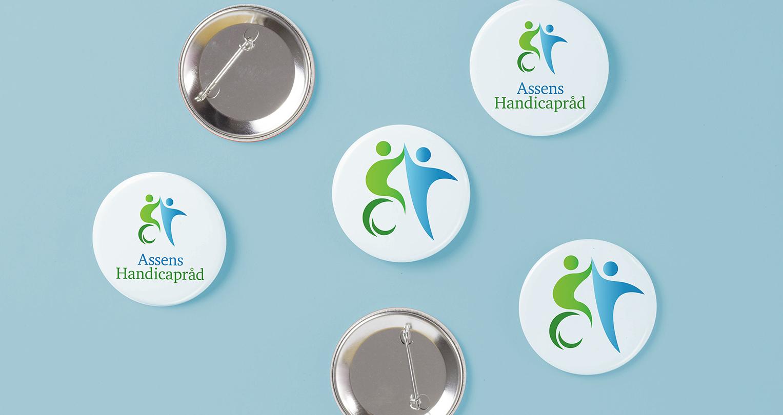 Assens Handicapråd - badges