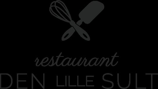 Billigt logo til restaurant eller café - sort