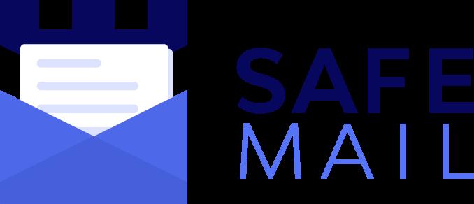 SafeMail logo - logo til sikkerhedsvirksomhed