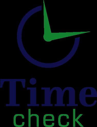 Time Check - Billigt logo til urhandler