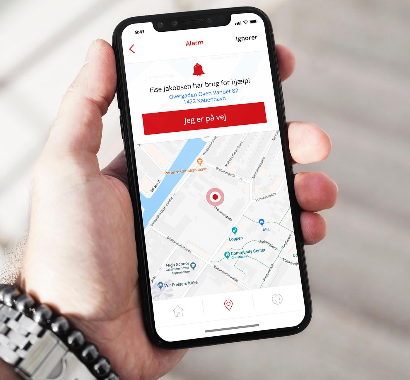 WeSafe - app-design