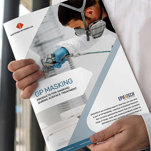 Design og opsætning af B2B brochure for Gottfred Petersen