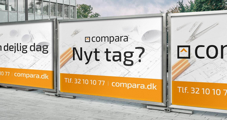 Compara outdoor banner design