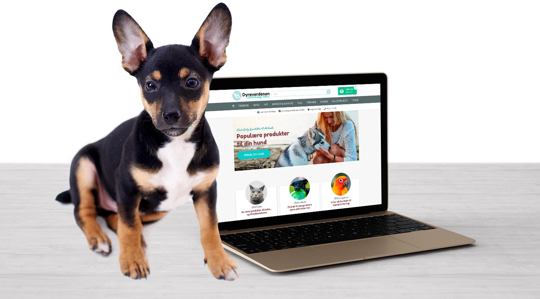 Design af webshop for dyreverdenen.dk