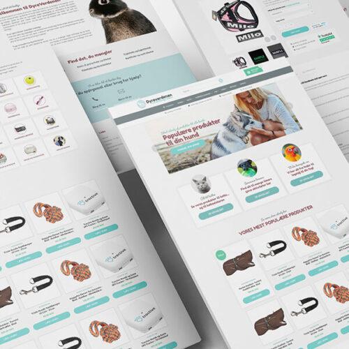 Design af webshop til Dyreverdenen