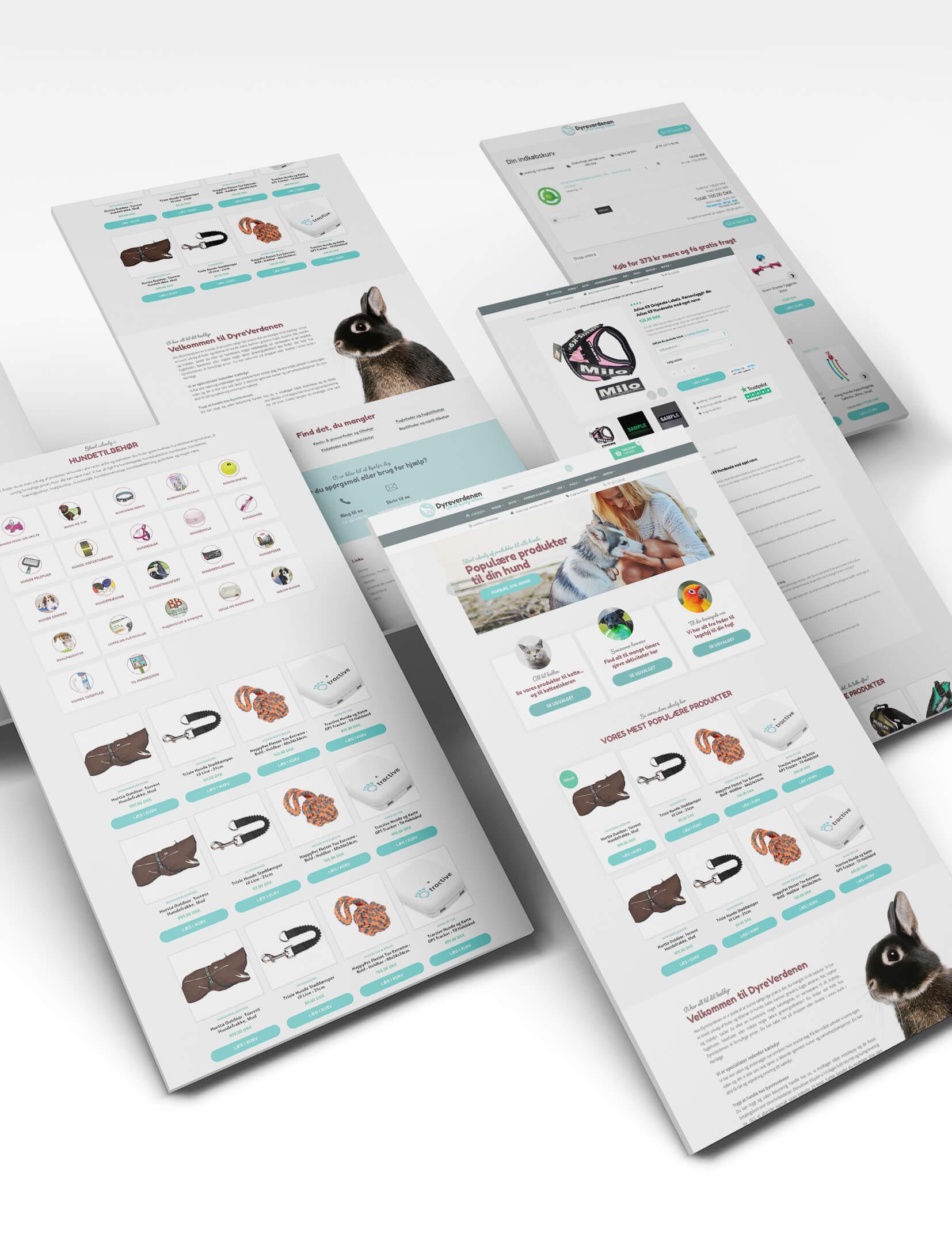 Web display - webdesign til webshop