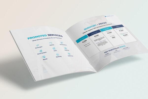 Design af brochure