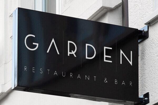 Garden Restaurant & Bar Logodesign_thumb