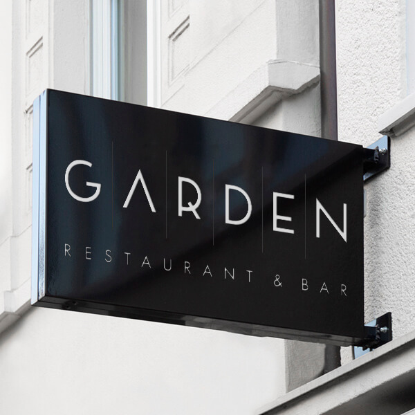 Garden Restaurant & Bar Logodesign_thumb