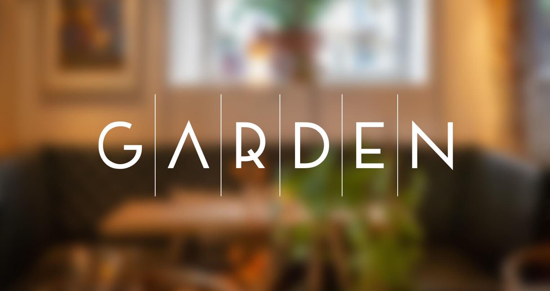 Præsentation af Garden Restaurant - redesign af logo