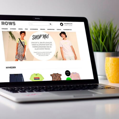Rows webdesign shoporama