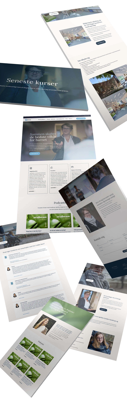 Responsivt webdesign i Wordpress med Divi til Det Unikke Barn