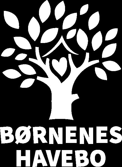 Logo børnehave i hvid