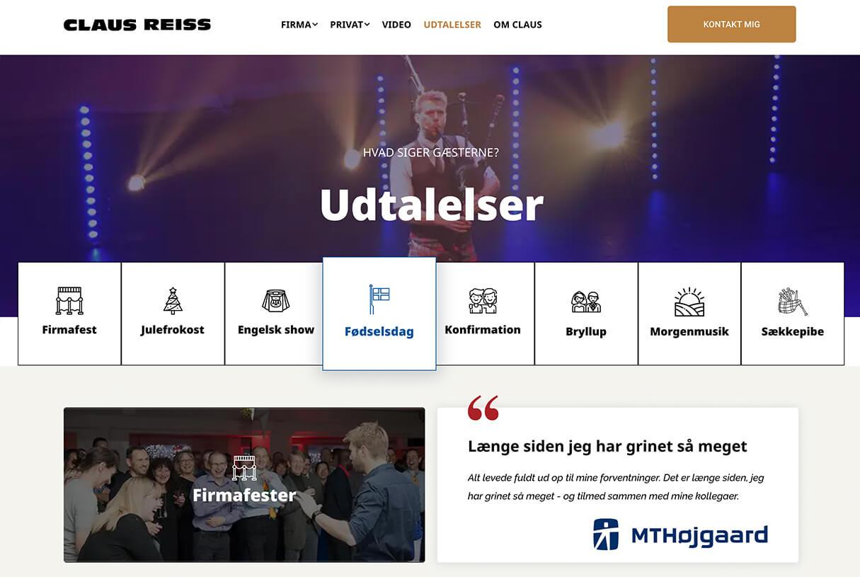 clausreiss.dk - udtalelser efter